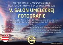 Pozvánka 5. salón umeleckej fotografie