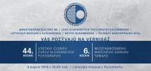 Pozvánka 44. ročník umeleckej fotografie členov ZSF a 6. ročník TAMAPO