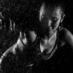 Dancing int the rain